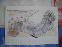 Répresentation Du Timbre, Mallotus Villosus Fossils (2) - Groenland