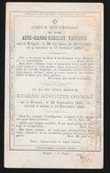 ANNE VANTOURS  BRUGGE 1801   1850 - Décès