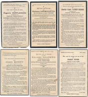 Bekegem / 6x Doodsprent / Bidprent  / Data Overlijden Tussen 1931 - 1944 - Devotieprenten