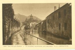 Salins-les-Bains; La Rivière Derrière Les Salines. N.-D. Libératrice - Non Voyagé. (Collection Le Jura) - Lons Le Saunier