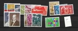 1960 MNH Liechtenstein, Year Complete According To Michel - Liechtenstein