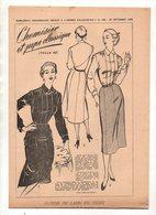 Patron De Femmes D'aujourd'hui N°386 Chemisier Et Jupe Classique Taille 42 De 1952 - Patterns