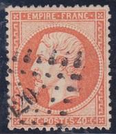 N°23 Oblitéré PC Du GC 420, Bon Centrage, Belle Nuance, TB - 1862 Napoleon III