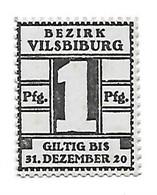 **notgeld Vilseburg 1 Pfennig  V6.1 - [11] Emisiones Locales
