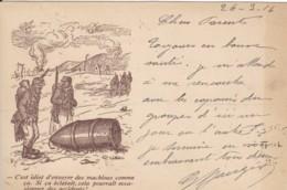 Correspondance Militaire / Carte-Postale - Cachet Trésor Et Postes *133*. - Franchise Militaire (timbres)