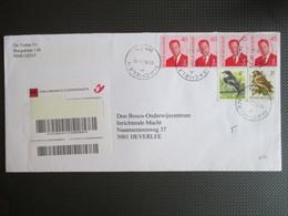 2560 - Albert II MVTM - 2 Paartjes + Buzin - Op Aangetekende Brief Uit Machelen - Belgium