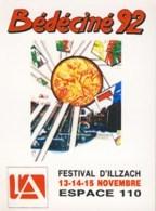 Autocollants BD De DRUILLET Pour Salon Bedeciné 1992 - Zelfklevers