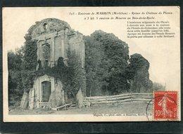 CPA - Environs De MAURON - Ruines Du Château Du Plessix Au Bois De La Roche - Autres Communes