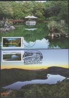 2018 R.O CHINA(Taiwan)- Maximum Cards - Alpine Lakes Of Taiwan (4V) - 1945-... Republic Of China