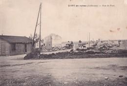 GIVRY EN RUINES                 RUE DU PONT - Francia