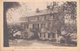 74 - LES PLAGNES Par SAINT GERVAIS / HOTEL DU PANORAMA - P. HUNE PROPRIETAIRE - Saint-Gervais-les-Bains