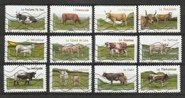 2014  Vaches De Nos Régions AA 953 à 964 Obl - France