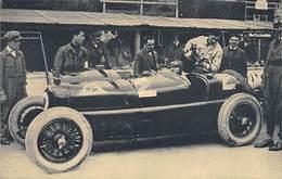 GRAN PREMIO DE EUROPA 1925 (CIRCUITO DE SPA).- ASCARI EN EL BOX DEL ALFA ROMEO - Grand Prix / F1