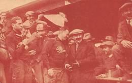 GRAN PREMIO DE ITALIA 1924.- ASCARI CON EL INGENIERO NICOLA ROMEO, DESPUÉS DE LA GRANDIOSA VICTORIA ALCANZADA POR LOS C - Grand Prix / F1