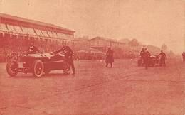 GRAN PREMIO DE ITALIA 1924.- LOS ALFA ROMEO CONDUCIDOS A MANO HACIA EL PUNTO DE PARTIDA. - Grand Prix / F1
