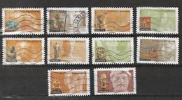 2007 Antiquités AA 104  à 113 Obl - France