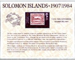 Ref. 154743 * MNH * - SOLOMON Islands. 1984. 19th HAMBURG UPU CONGRESS . 19 CONGRESO DE LA UPU EN HAMBURGO - Salomon (Iles 1978-...)