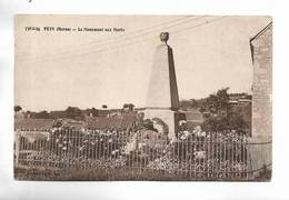 51 - PEVY ( Marne ) - Le Monument Aux Morts - France