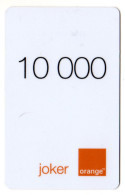 CAMEROUN PREPAYEE ORANGE JOKER 10000 - Kameroen