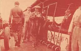 GRAN PREMIO DE ITALIA 1924.- ASCARI, GANADOR SOBRE ALFA ROMEO DEL GRAN PREMIO DE ITALIA TOMANDO LIGERO DESAYUNO - Grand Prix / F1