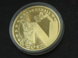 Médaille Grande-Bretagne - BASKETBALL 2012 - ENGLAND 2012     **** EN ACHAT IMMEDIAT *** - Professionnels/De Société