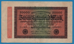 DEUTSCHES REICH 20000 Mark20.02.1923# J-KH 039965  P# 85b - [ 3] 1918-1933 : República De Weimar