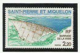 SAINT PIERRE ET MIQUELON SPM N° 452 ** Neuf 1976 Barrage - Neufs