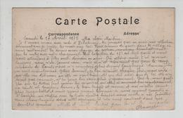 Ecriture De Guerre Sur Une Carte Postale 1915 Hébuterne La Grand Rue En Face L'Eglise - Militaria
