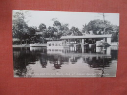 RPPC  Boat Landing   Florida > Silver Springs  Ref 3987 - Silver Springs