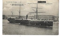 PAQUEBOT ORENOQUE CPA 2 SCANS - Steamers