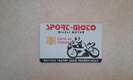 BELLE CARTE A PUCE FIDELITE MAGASIN DE MOTO T.B.E !!! - France