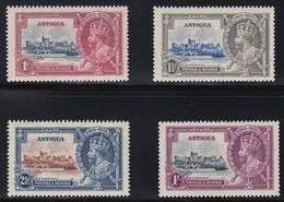 ANTIGUA 1935 SILVER JUBILEE  SG 91/94  MNH CV £38 - 1858-1960 Crown Colony