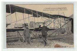 10 MAILLY CAMP ESCADRILLE AERIENNE LIEUTENANT ARTILLERIE VARCIN PILOTE AVION AVIATION AVIATEUR - Mailly-le-Camp