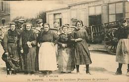 76 DIEPPE - Groupe De Hottières Porteuses De Poissons - Dieppe