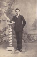CPA Photo - Portrait D'un Jeune Homme En Costume - Photo J. Férréra à Toulon - Vers 1880-1900 - Photographie