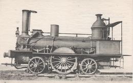 AK Les Locomotives Francaises Orleans 427 Locomotive Machine No 2 Ancien Chemin De Fer Train De Sceaux Et D' Orsay - Trains