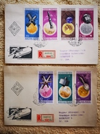 FDC BIG SALE Hungary 1965. Results Of The Space Set On FDC Michel: 2194-2200 / 7.50 EUR - FDC