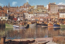Whitby, The Harbour From The Old Town - Whitby