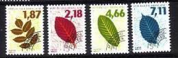 1996-PREO N°236/239** FEUILLES D'ARBRES - 1989-....