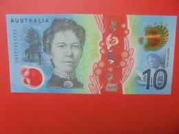 AUSTRALIE 10$ 2017 PEU CIRCULER/NEUF (B.11) - Dezimale Regierungsausgaben 1966-...