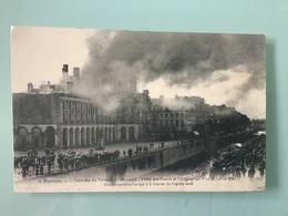 RENNES. — L'Incendie Du Palais Du Commerce. - Hôtel Des Postes Et Télégraphes. - Le 29 Juillet 1911 - Rennes