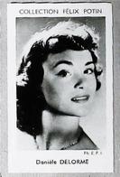Danièle DELORME Actrice Née à Levallois (a Vécu à Saint-Hilarion Yvelines) - 4ème Collection Photo Felix POTIN 1952 - Félix Potin