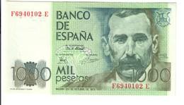 Spagna Espana 1000 Pesetas 1979 Ottimo Esemplare Sup LOTTO 3000 - [ 3] 1936-1975: Regime Van Franco