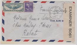 LSC -  NEW-YORK Pour RABAT  / 24 SEPT 1941 - Vereinigte Staaten