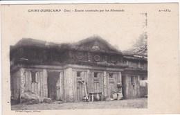 60 Chiry Ourscamps Ecurie Construite Par Les Allemands ,écrite En 1917 - Other Municipalities