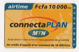 CAMEROUN RECHARGE GSM MTN AIRTIME 10 000 FCFA - Camerún