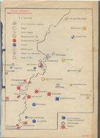 TRES RARE......DOCUMENT OFFICIEL Date Du 9 Aout 1944...emplacement Des Camps De Prisonniers En SUISSE - 1939-45