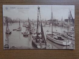 Oostende: Les Barques De Pêcheurs, Vissersboten -> Onbeschreven - Oostende