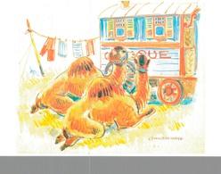 CIRQUE à SAINTE ANNE LA PALUD - ILLUSTRATION DE YVONNE JEAN HAFFEN - Circus