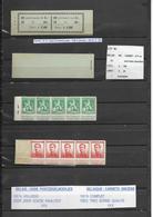 A 11 - Xxx  - Perfect - Geen Roest - Pas De Rouille  -  Complet  Cote  :  190 € +  Limiet : 29 € - Booklets 1907-1941